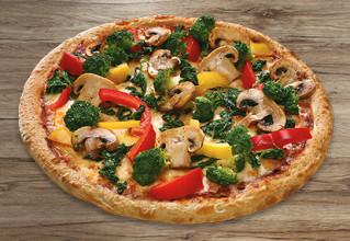 Frischer Garten vegan thin crust M