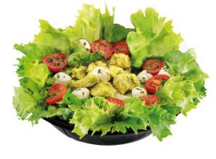 Pesto Chicken Salat