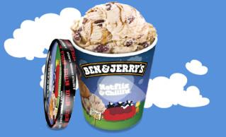Ben & Jerry's Netflix & Chilll´d 465ml