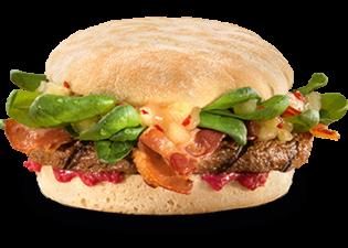 Spicy Chutney burger