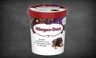 Häagen-Dazs Dark Chocolate & Caramelized Almond 460ml