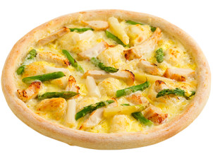 Dinkel Pizza Spargelzeit