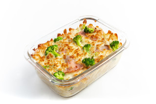 Gratin Broccoli & Hinterschinken