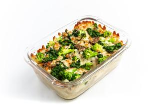 Gratin Champignons, Spinat & Broccoli