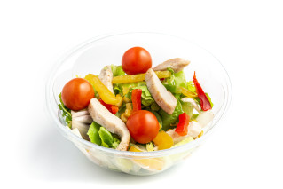 Caesar's Chicken Salat