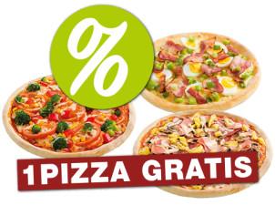 Menü 2 - World Pizza gratis