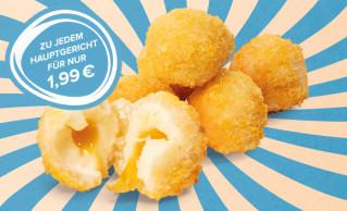 Dessert-Menü Marille-Cheesecake-Balls