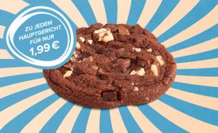 Dessert-Menü XXL-Cookie Double-Chocolate (Dunkel)