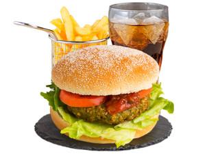 Green Oat Burger (vegan)
