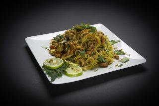 Bombay Nudeln Huhn