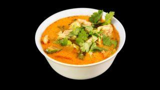 2a - Thai Kokosmilch Suppe mit Huhn