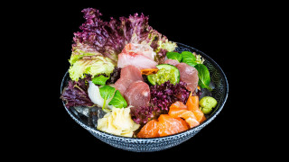 58 - Yokoso New Style Sashimi (18 Stk.)