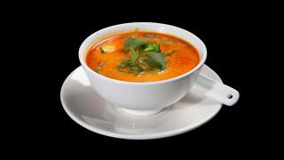 2 - Thai Kokosmilch Suppe vegetarisch