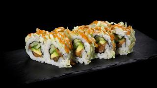 46 - Green Crunchy Salmon (8 Stk.)