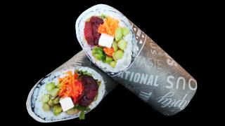 120a - Halber Veggy Burrito