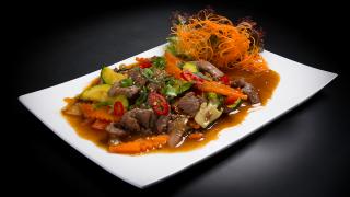 106c - Asia Gourmet Wok mit Rind