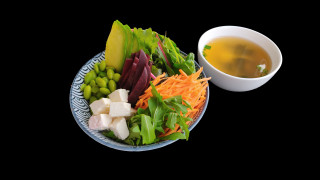 S16 - Veggy Salat + Miso Suppe