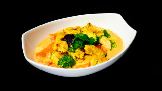 Yellow Curry Huhn