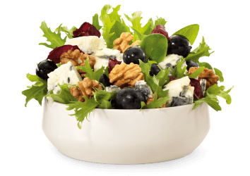 Walnuss-Gorgonzola Salat