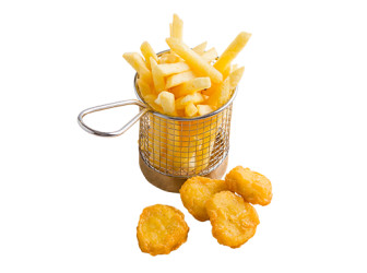 Kids 4 Nuggets & Pommes Frites