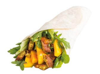 Falafel Mango Wrap vegan