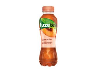 FuzeTea Schwarzer Tee Pfirsich 0,4 l