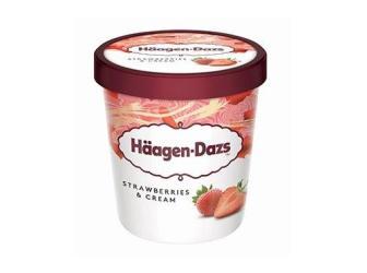 Häagen-Dazs Strawberries & Cream