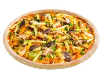 Pizza Waldpilz (vegetarisch)
