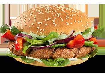 Wasabi Beef burger