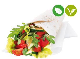 Wrap Gartenfrisch vegan