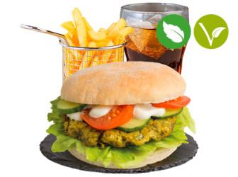 Falafel Burgermenü