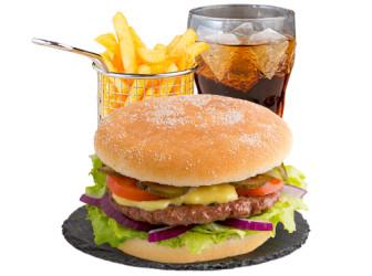 World Burger Menü