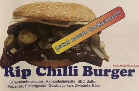 Rib Chilli Burger