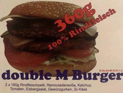 double M Burger