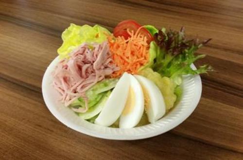 Frische Salatplatte