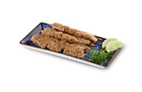 Sesam-Spiesse Snack 3 Hähnchen-Spieße im Sesammantel
