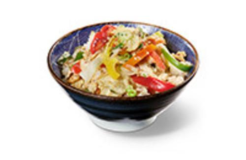 Cha Han Bowl gebratener Reis mit Gemüse und Ei