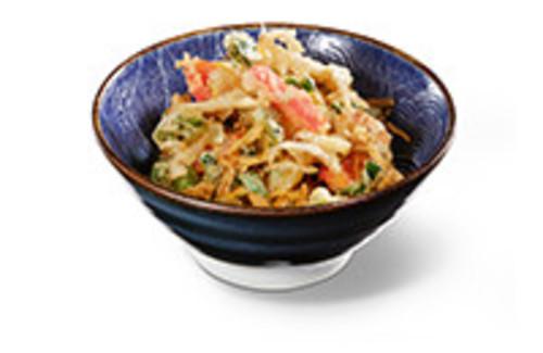 In Tempurateig frittiertes Gemüse Vorspeise
