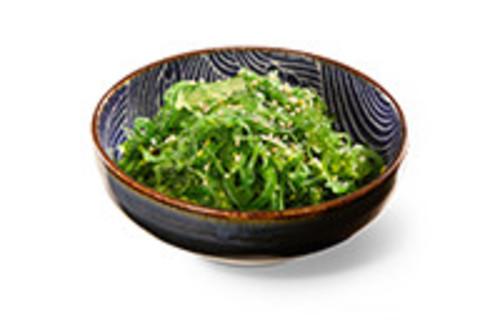 Spicy Wakame Vorspeise Würziger Seetang-Salat