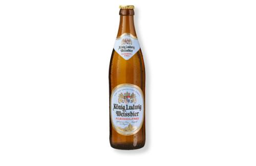 König Ludwig Hefeweizen alkoholfrei 0,5 l Flasche
