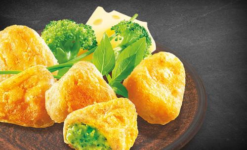 Broccoli-Cheese Nuggets