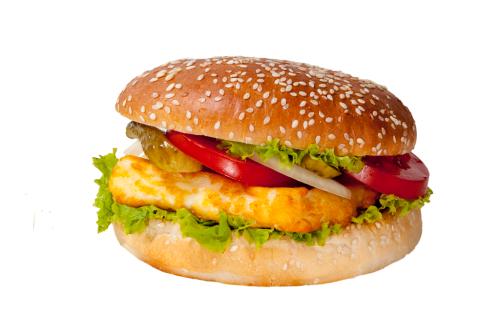 Burger Planet Halumi Burger