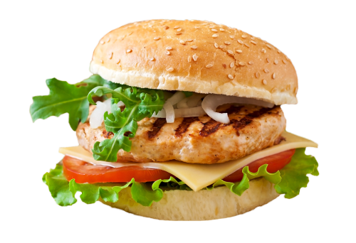 Grilled Chicken Burger<sup>SR,K</sup>