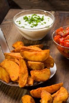 kleine Portion Kartoffelecken