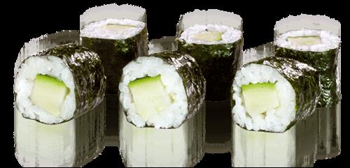 Maki Zucchini - 6 Stück