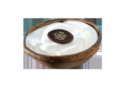 Kokosnuss Eis Dessert