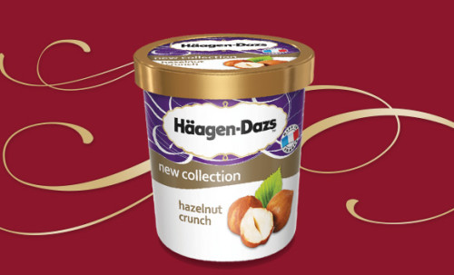 Häagen-Dazs Hazelnut Crunch 500ml
