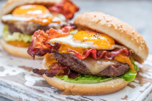 Burger Beef & Egg