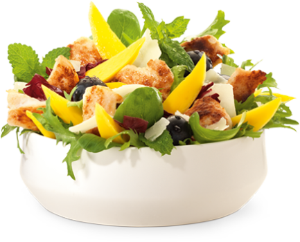 Grilled Chicken Salade groot