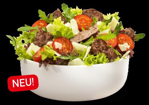 Angus Salat, groß